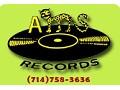 A M S Records, Anaheim - logo